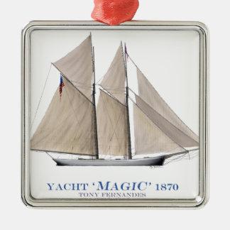 1870 Magic Metal Ornament