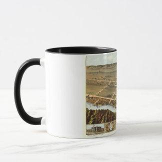 1870 New Ulm, MN Birds Eye View Mug