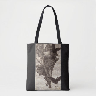 1871 Odin, Norse God of War Tote Bag