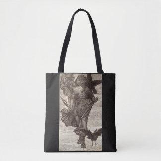 1871 Odin, Northern God of War Tote Bag