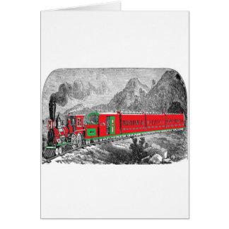 1871) trenes de locomotive-pictures-2Modern (de Tarjeta De Felicitación