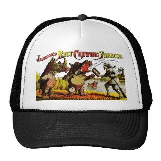 1871 Vintage Chewing Tobacco Ad Trucker Hat