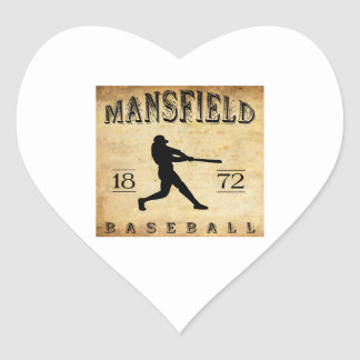 1872 Mansfield Connecticut Baseball Stickers