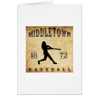 1872 Middletown Ohio Baseball Card