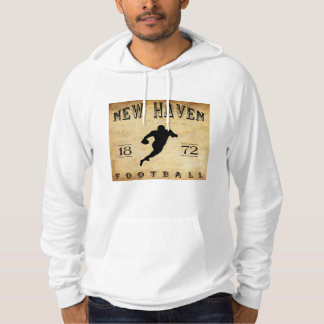 1872 New Haven Connecticut Football Hoodie