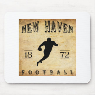 1872 New Haven Connecticut Football Mouse Pad