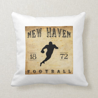 1872 New Haven Connecticut Football Pillows