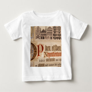 1873 Antique Certificate Vintage Paper Baby T-Shirt