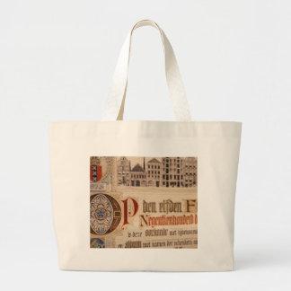 1873 Antique Certificate Vintage Paper Bags