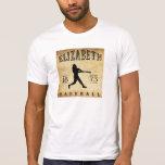 1873 Elizabeth New Jersey Baseball T Shirts