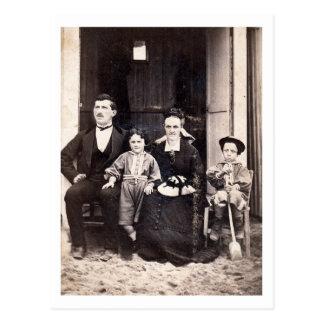 ~ ~ 1873 - Lyon s/mer (France) ~ Lefebvre Family Post Card