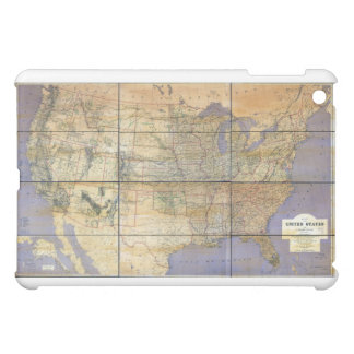 1873 Map of the United States and Territories iPad Mini Cases