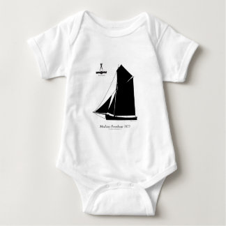 1873 Medway Peterboat - tony fernandes Baby Bodysuit