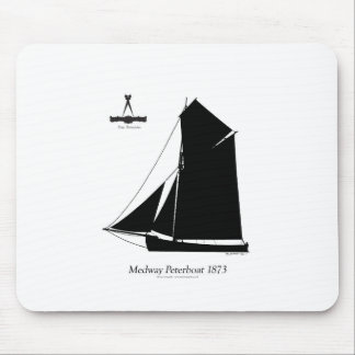 1873 Medway Peterboat - tony fernandes Mouse Pad