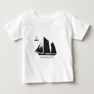 1873 trading ketch - tony fernandes baby T-Shirt