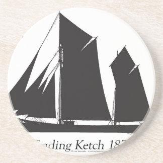 1873 trading ketch - tony fernandes coaster