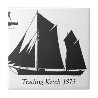 1873 trading ketch - tony fernandes tile
