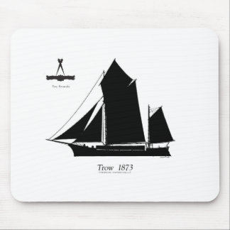 1873 trow - tony fernandes mouse pad