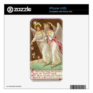 1875: A Victorian greetings card Decals For iPhone 4