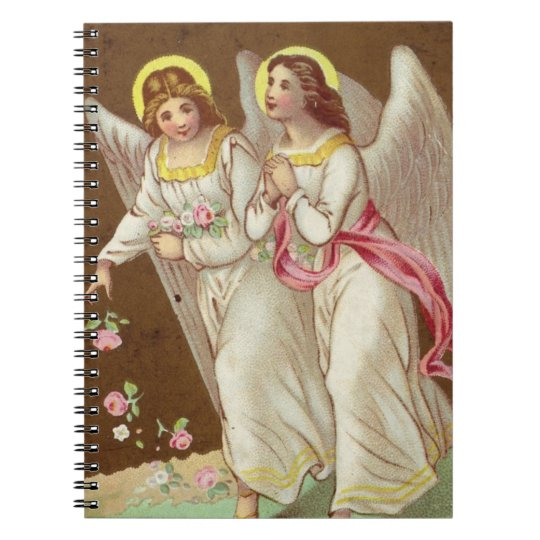 1875: A Victorian greetings card Notebook