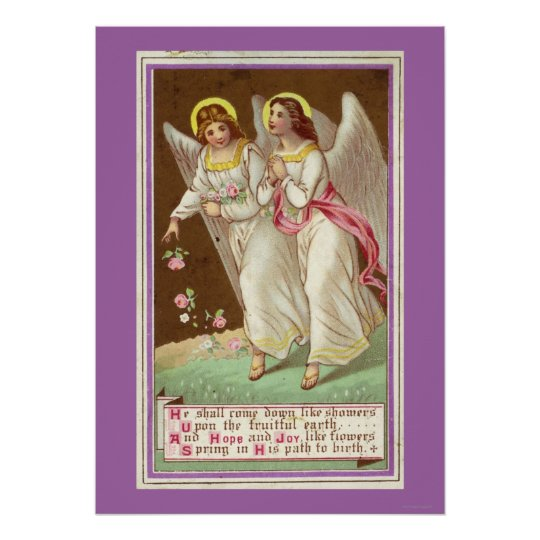 1875: A Victorian greetings card Poster