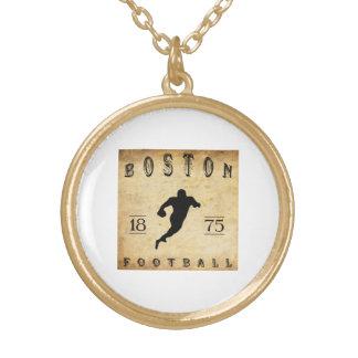 1875 Boston Massachusetts Football Custom Necklace