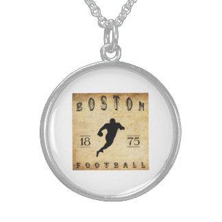 1875 Boston Massachusetts Football Necklaces