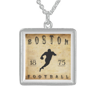 1875 Boston Massachusetts Football Pendants