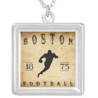 1875 Boston Massachusetts Football Personalized Necklace