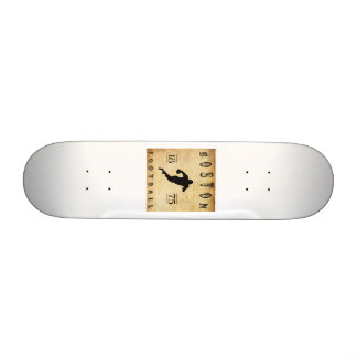 1875 Boston Massachusetts Football Skate Board