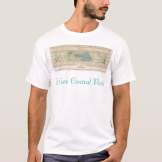 1875 Map of Central Park T-Shirt
