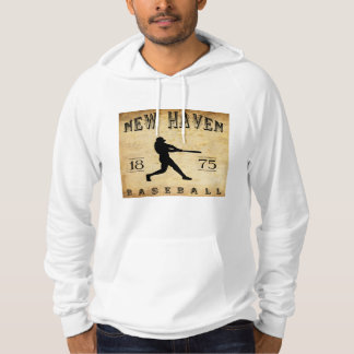 1875 New Haven Connecticut Baseball Hoodie