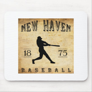 1875 New Haven Connecticut Baseball Mouse Pad