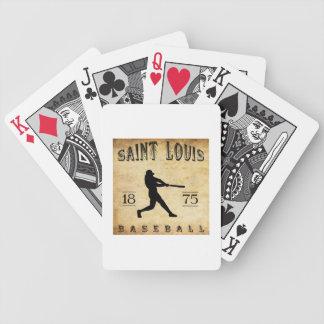 1875 Saint Louis Missouri Baseball Card Decks