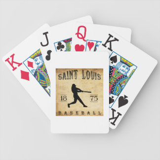 1875 Saint Louis Missouri Baseball Deck Of Cards