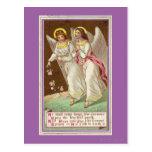 1875: Una tarjeta de felicitaciones del Victorian Tarjetas Postales