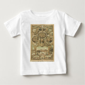1876 Centennial America United States Independence Baby T-Shirt