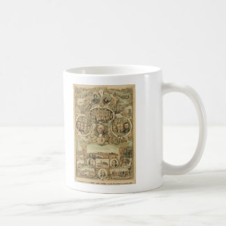 1876 Centennial America United States Independence Coffee Mug