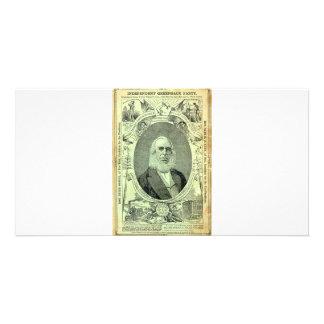 1876 Greenback Party Custom Photo Card