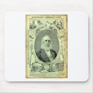 1876 Greenback Party Mouse Pads