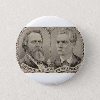 1876 Hays - Wheeler Button