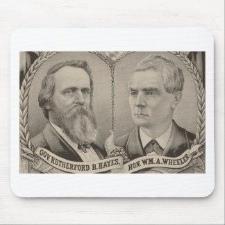 1876 Hays - Wheeler Mouse Pad