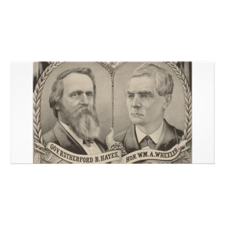 1876 Hays - Wheeler Personalized Photo Card
