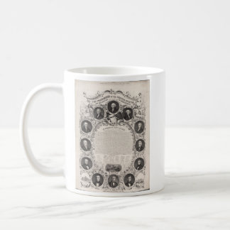 1876 Reproduction The Declaration of Independence Coffee Mug