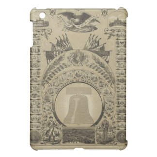 1876 Reproduction The Declaration of Independence iPad Mini Covers
