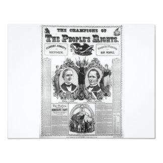 1876 Tilden - Hendricks Card