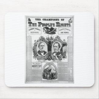 1876 Tilden - Hendricks Mousepads