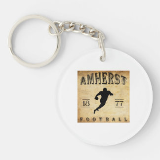 1877 Amherst Massachusetts Football Keychain