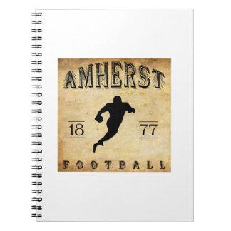 1877 Amherst Massachusetts Football Journal