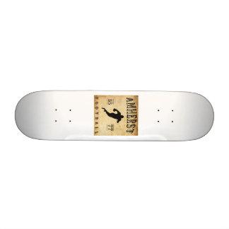 1877 Amherst Massachusetts Football Custom Skate Board
